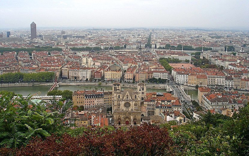 法國-里昂-里昂舊城區
