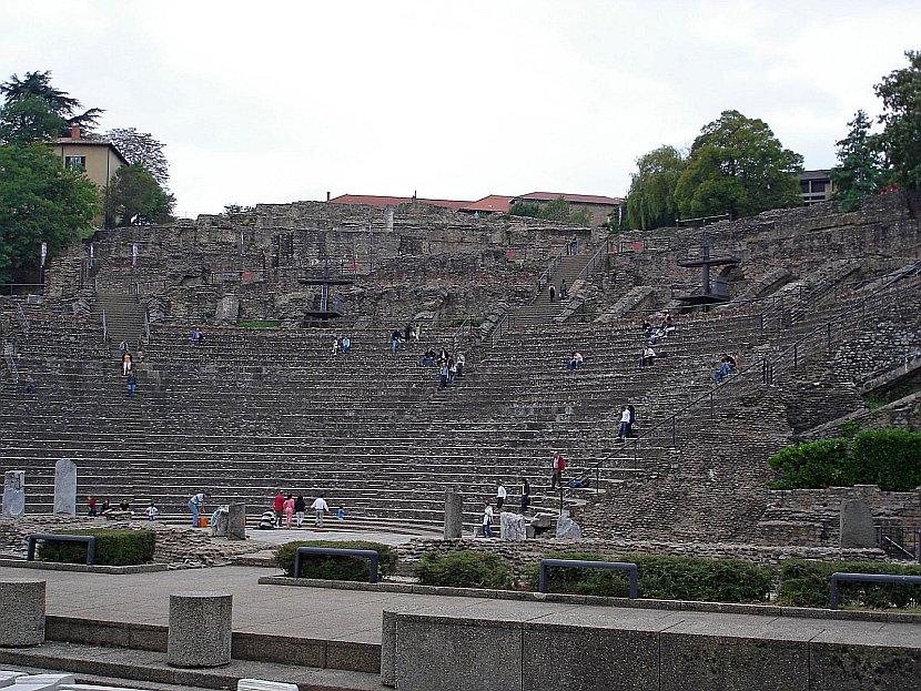 法國-里昂-羅馬劇場