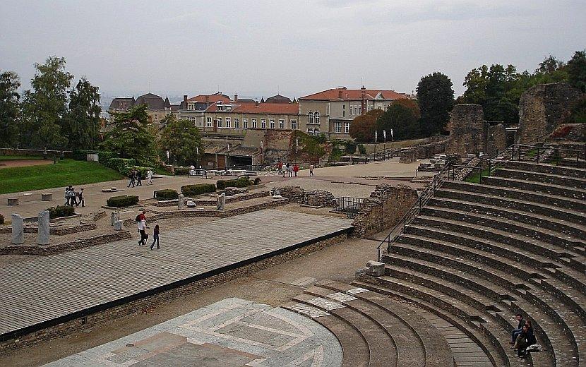 法國-里昂-羅馬圓形劇場