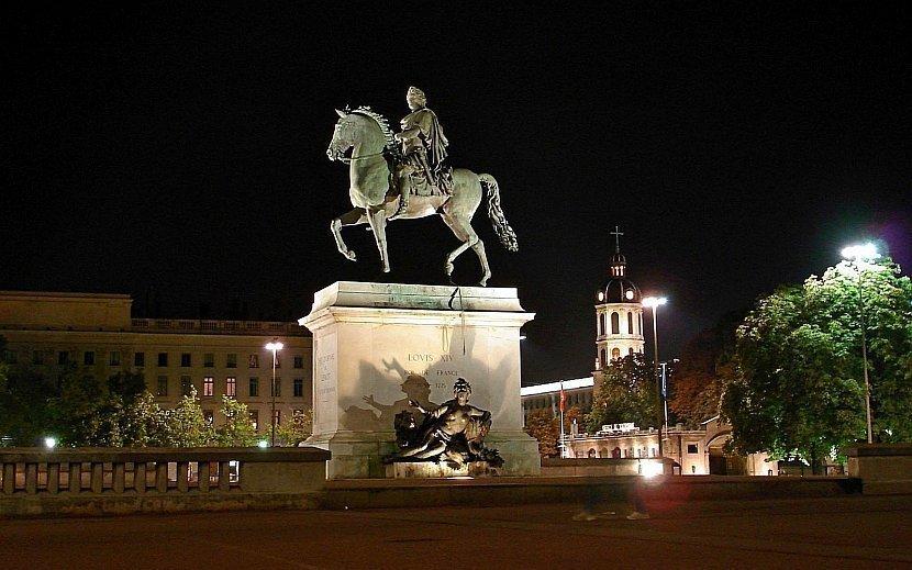 法國-里昂-路易十四