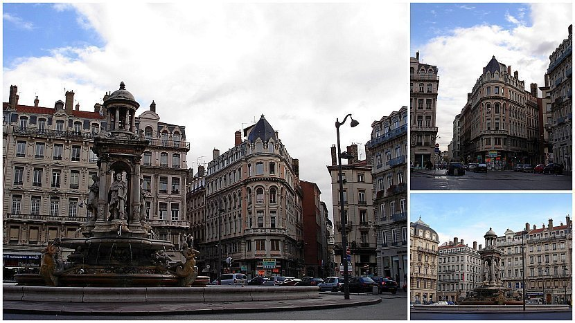 法國-里昂-雅各賓廣場Place des Jacobins上的噴泉:Gérard Audran