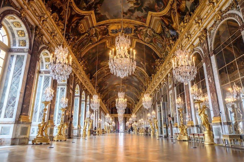 法國-巴黎-凡爾賽宮鏡廳