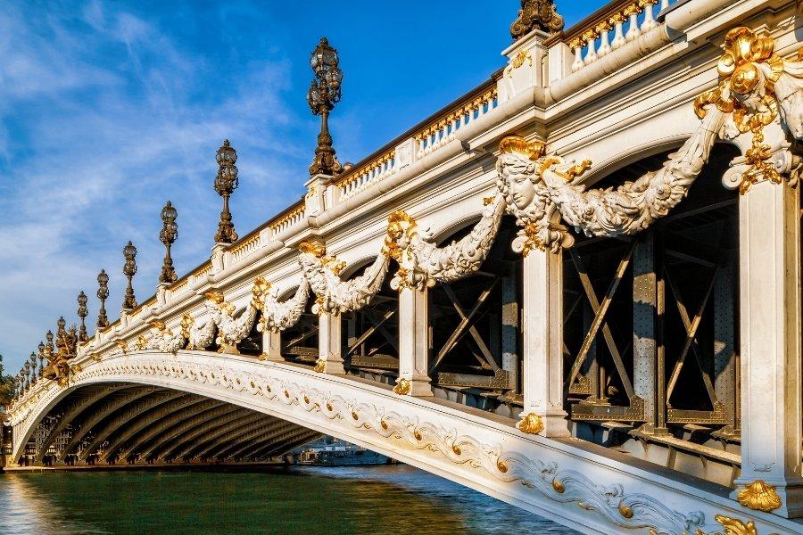 法國-巴黎-亞歷山大三世橋
