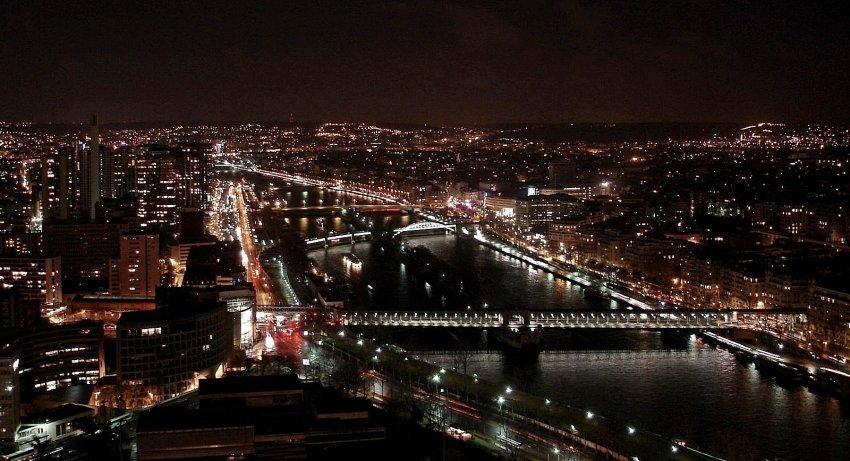 法國-巴黎-艾菲爾鐵塔觀景台
