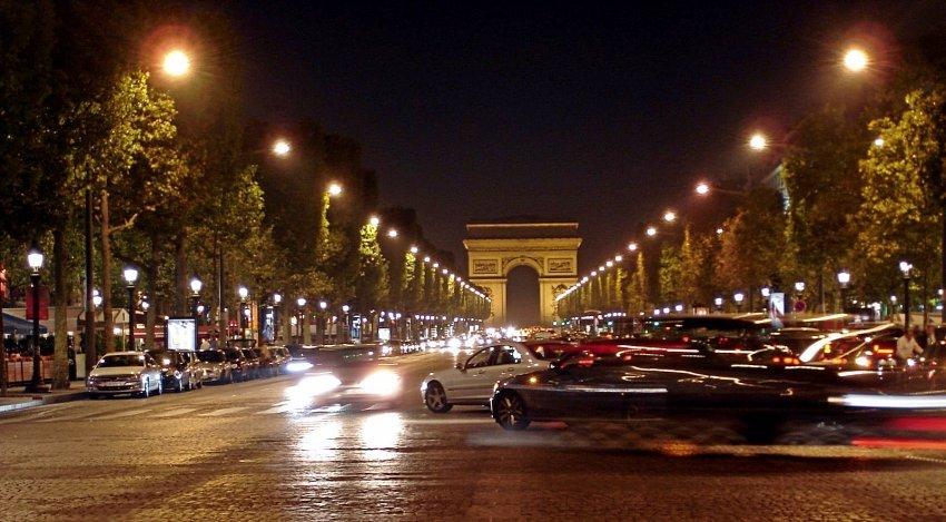 法國-巴黎-凱旋門
