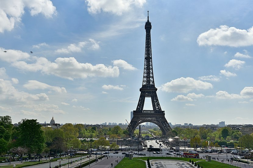法國-巴黎-艾菲爾鐵塔