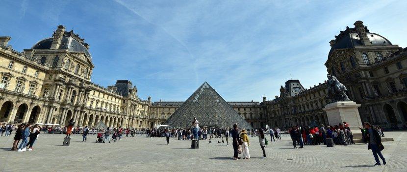 法國-巴黎-羅浮宮