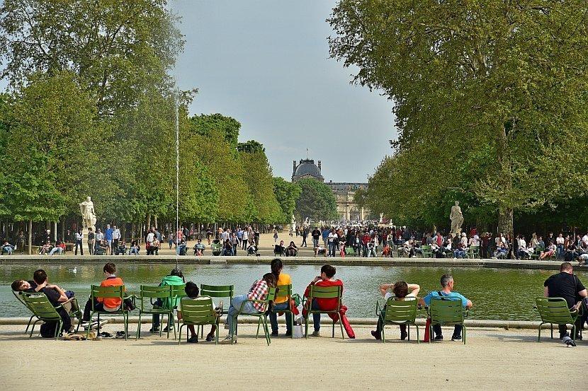 法國-巴黎-杜樂麗花園Jardin des Tuileries