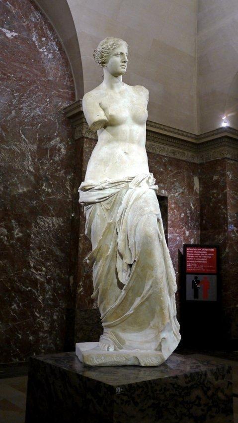 """法國-巴黎-羅浮宮louvre-Aphrodite, known as the """"Venus de Milo""""米洛的維納斯"""