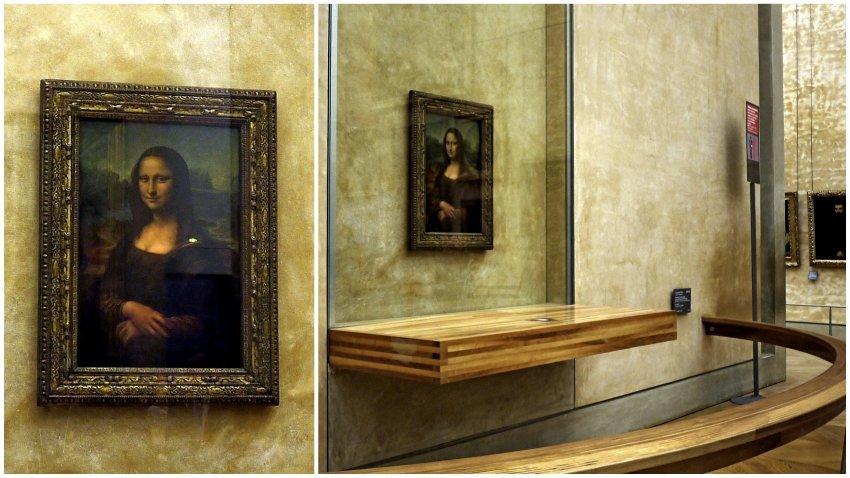 法國-巴黎-羅浮宮louvre-Mona Lisa – Portrait of Lisa Gherardini, wife of Francesco del Giocondo蒙娜麗莎