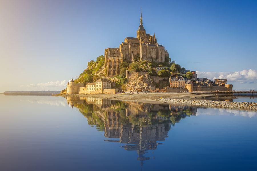 法國-聖米歇爾山