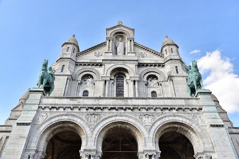 法國-巴黎-蒙馬特-聖心堂