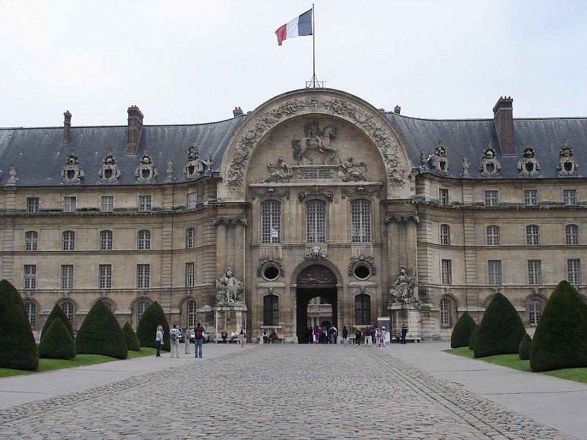 法國-巴黎-巴黎傷兵院Les Invalides