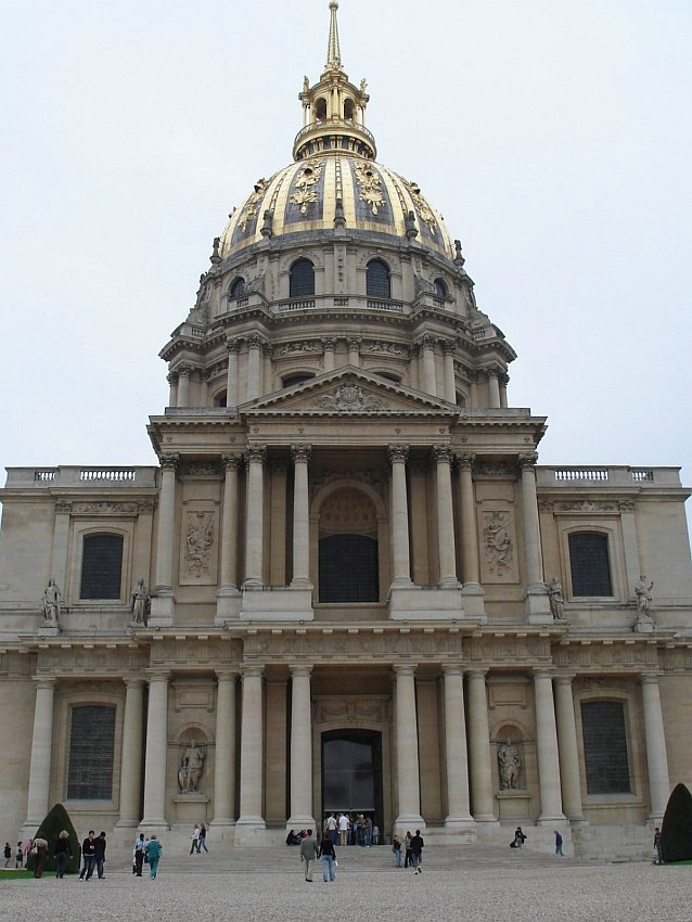 法國-巴黎-巴黎傷兵院Les Invalides-圓頂教堂