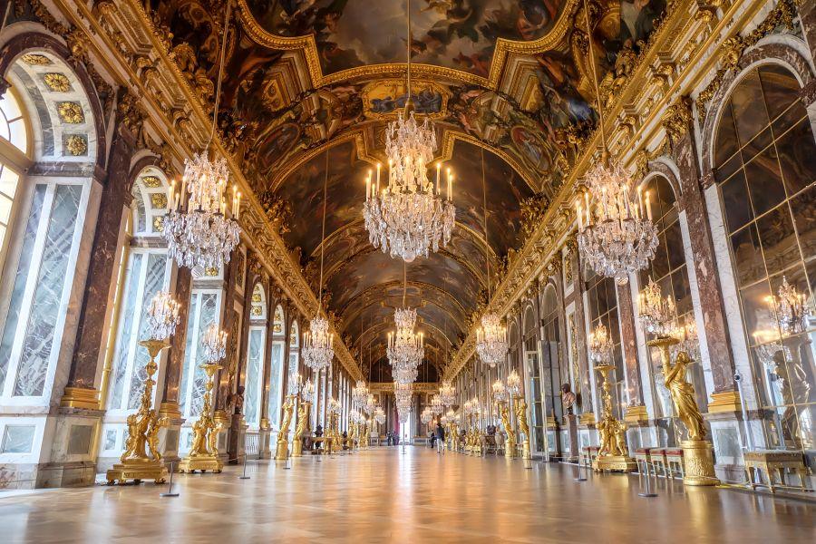 法國-凡爾賽宮-鏡廳