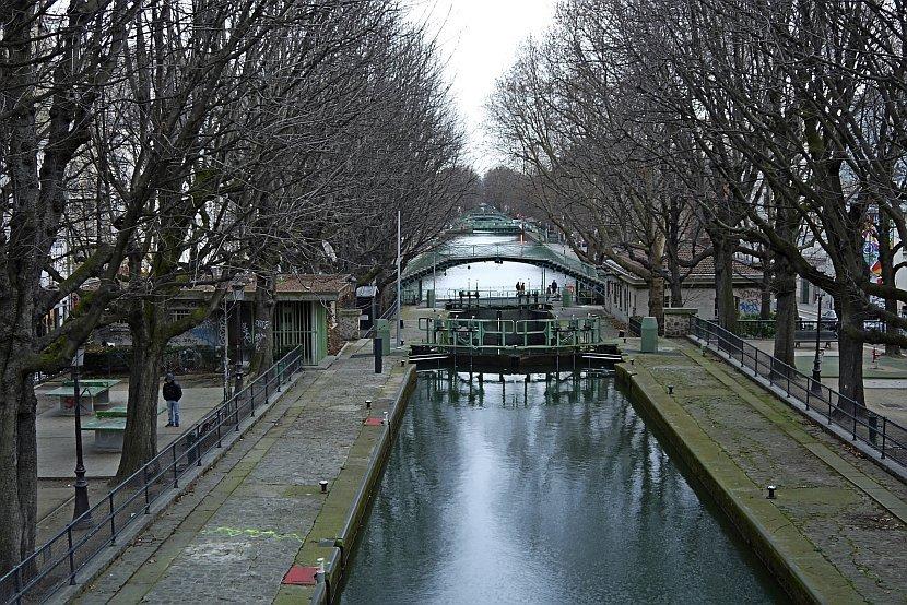 法國-巴黎-聖馬丁運河