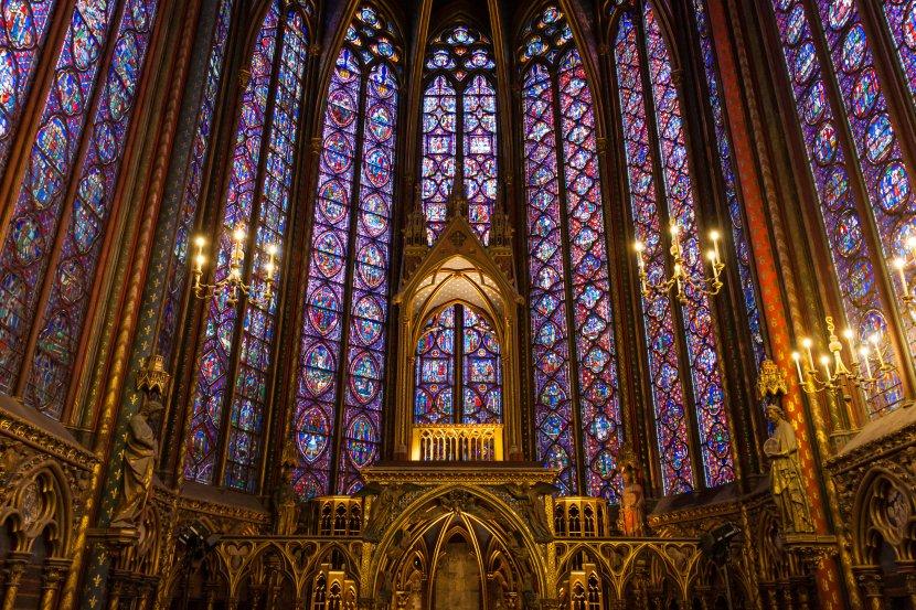 法國-巴黎-聖禮拜堂