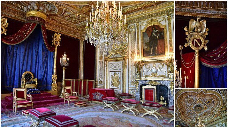 法國-巴黎-楓丹白露宮-王座廳