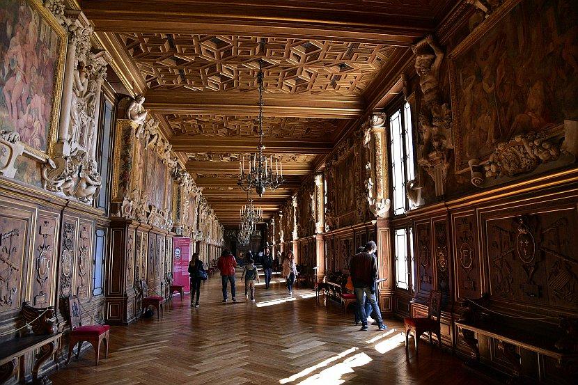 法國-巴黎-楓丹白露宮-法蘭索瓦一世畫廊