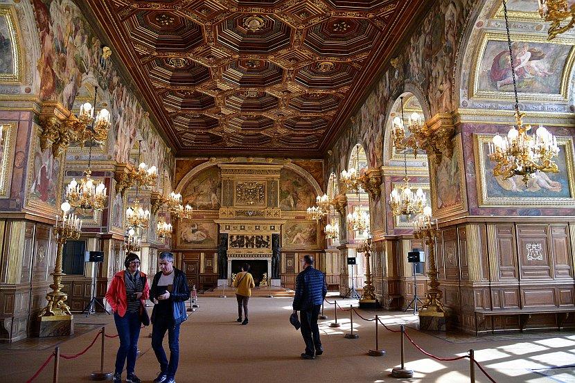 法國-巴黎-楓丹白露宮-舞廳