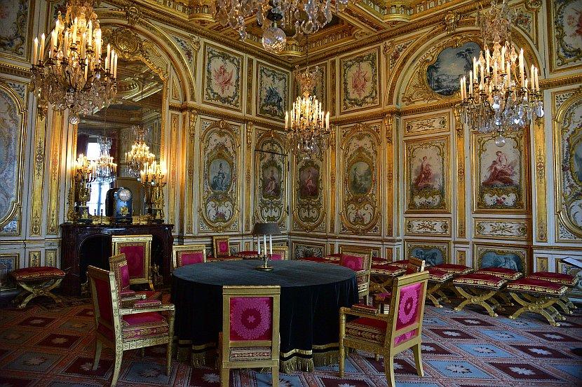 法國-巴黎-楓丹白露宮-議事廳