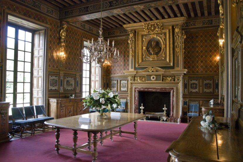 法國-謝韋爾尼城堡