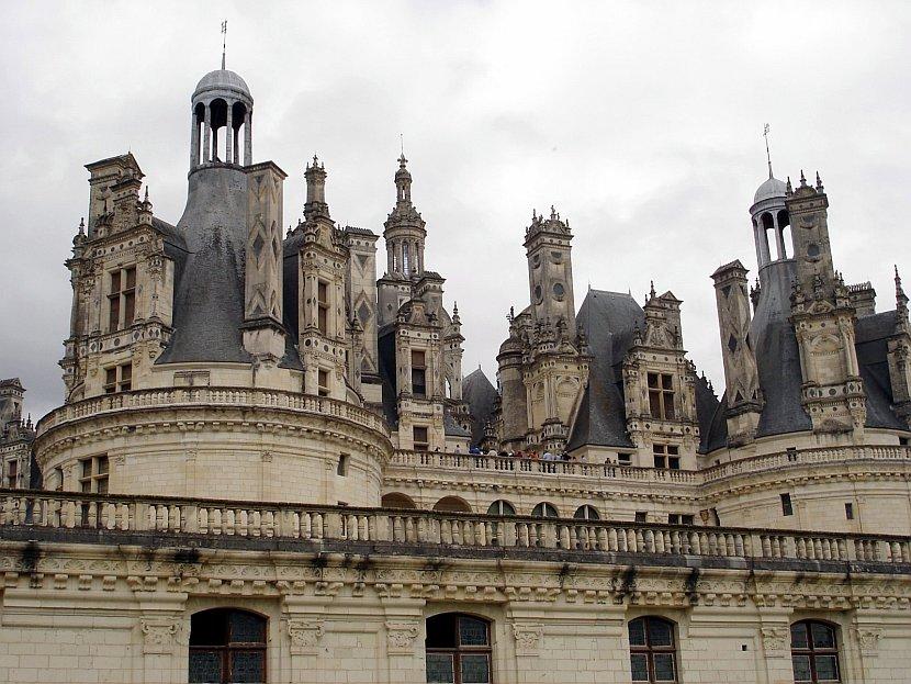 法國-羅亞爾河-香波爾城堡Château de Chambord