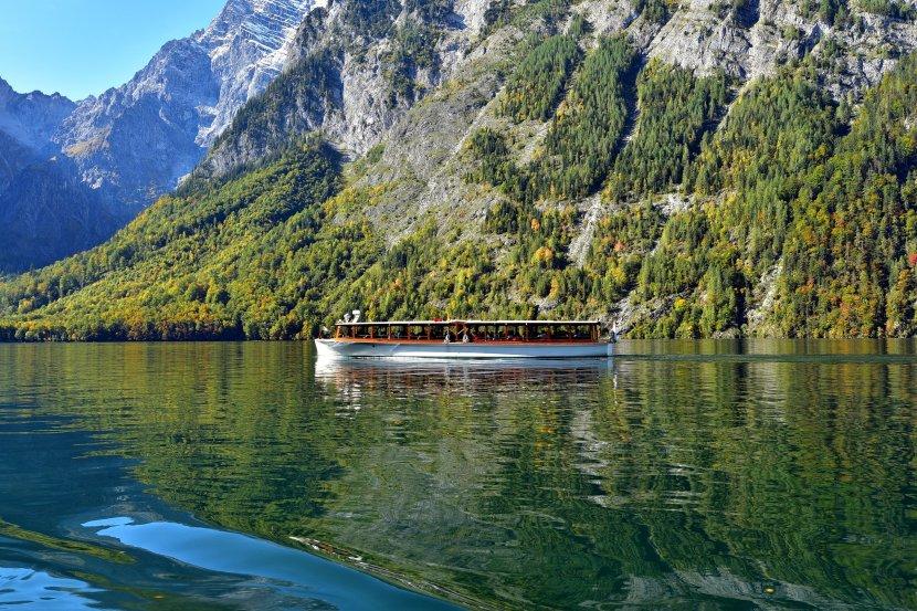 德國-國王湖-遊船