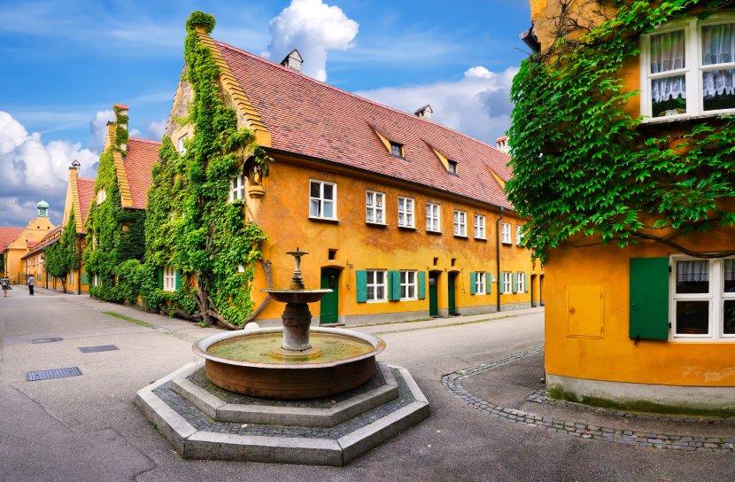 德國-奧格斯堡-福格社區