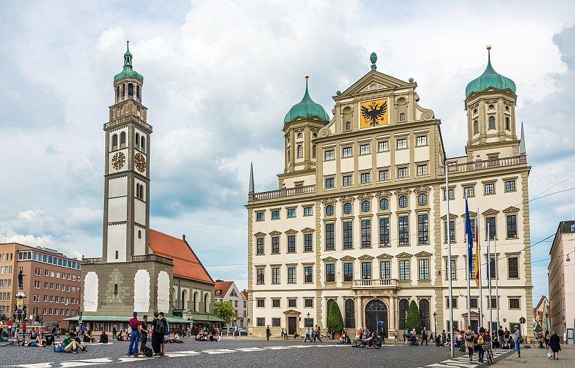 德國-奧格斯堡-市政廳