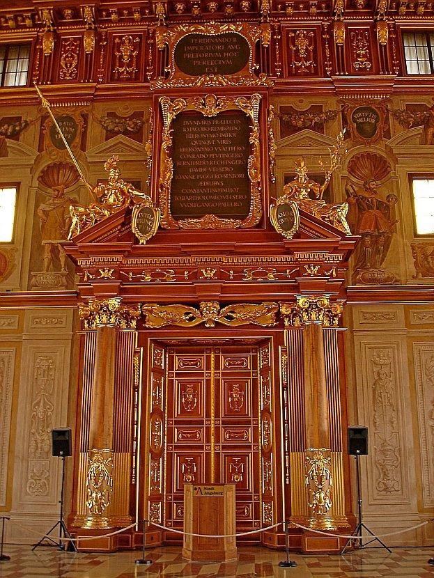 德國-奧格斯堡-市政廳金色大廳(Der Goldene Saal Augsburg)