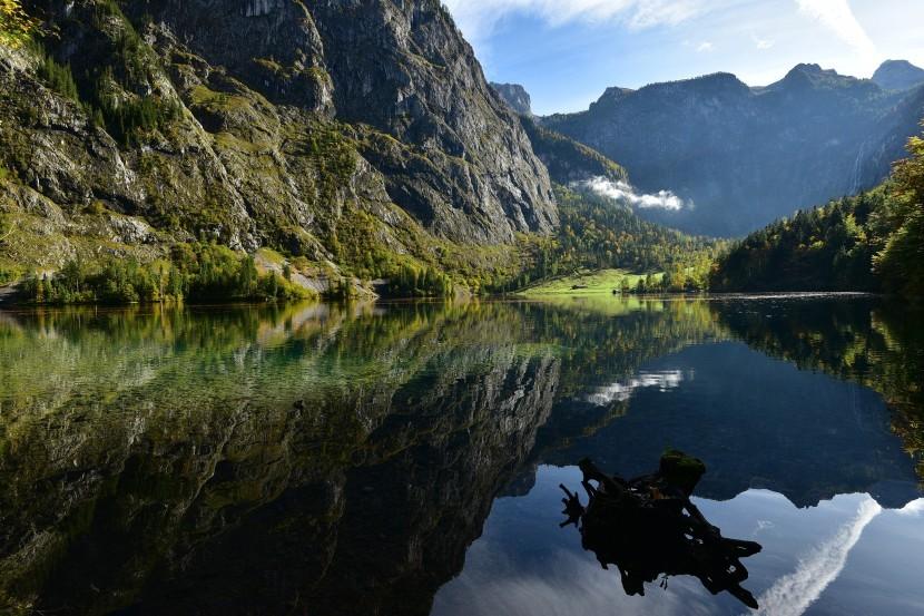 德國-貝希特斯加登-國王湖上湖