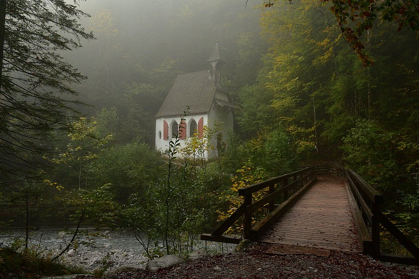 德國-國王湖-聖巴多羅買教堂到冰教堂(Eiskapelle)健行路線的St. Johann und Paul Kapelle