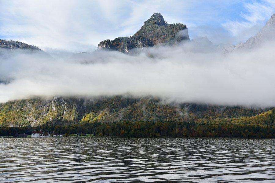 德國-阿爾卑斯山-國王湖-遊船