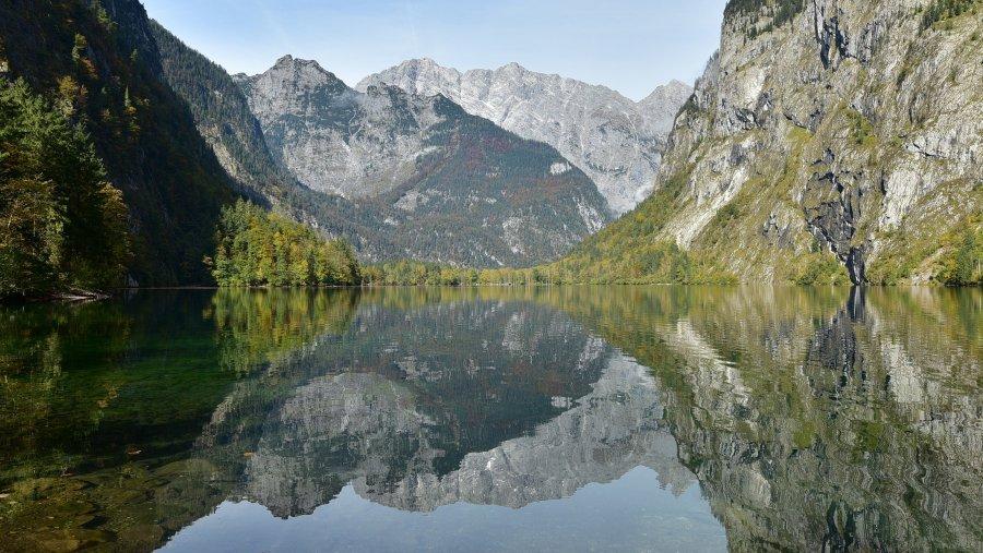德國-阿爾卑斯山-國王湖-上湖