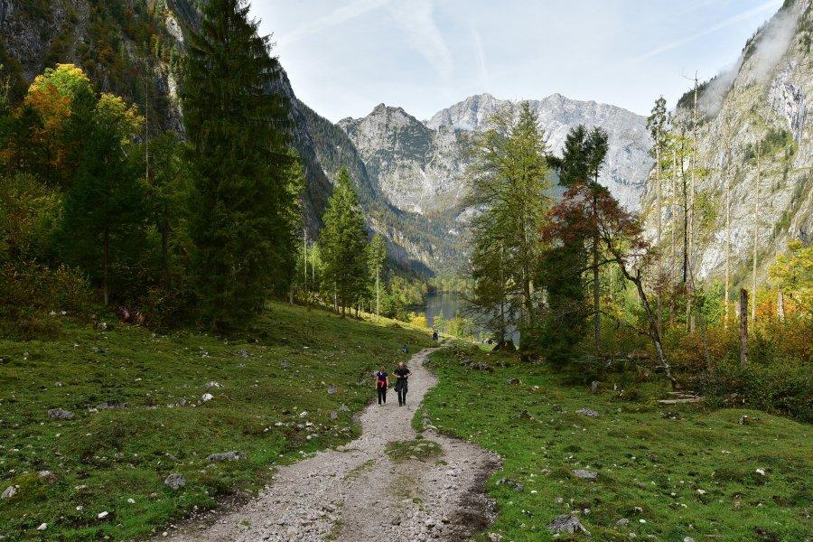德國-貝希特斯加登Berchtesgaden-國王湖Konigssee-上湖Obersee