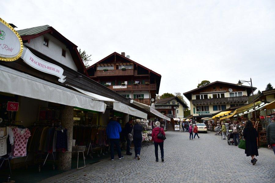 德國-阿爾卑斯山-國王湖-商店街