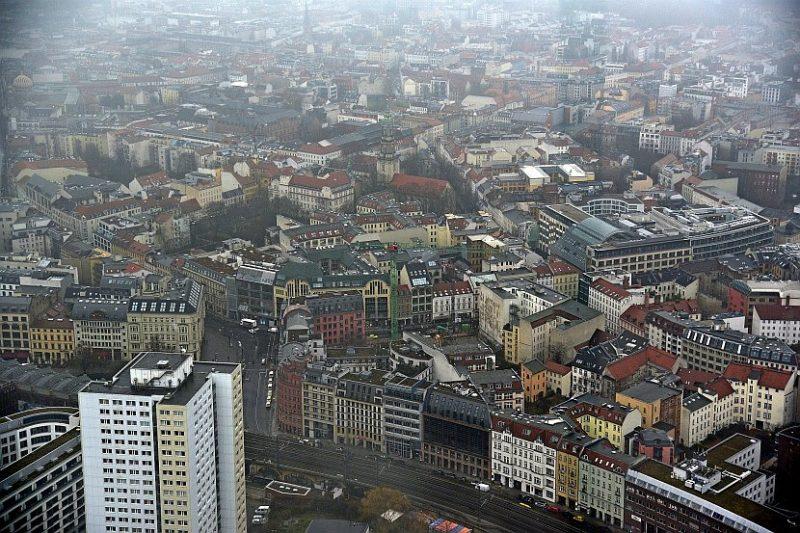 德國-柏林-柏林電視塔