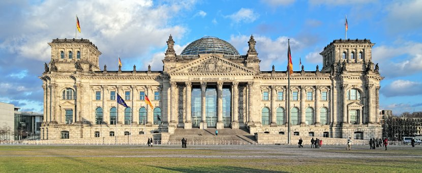 德國-柏林-國會大廈