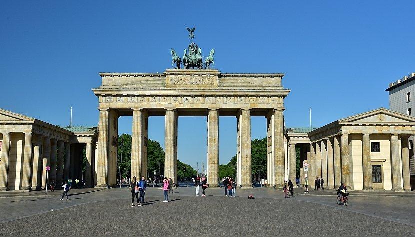 德國-柏林-布蘭登堡門