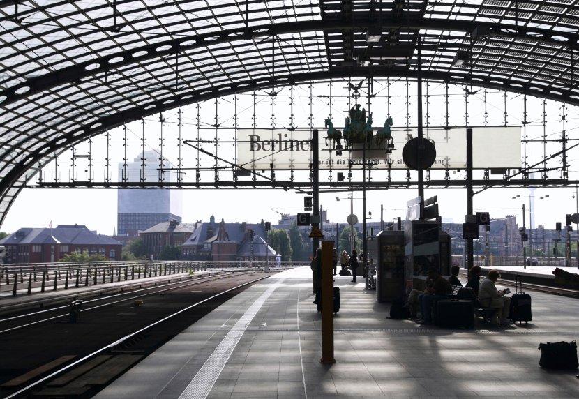 德國-柏林-中央車站