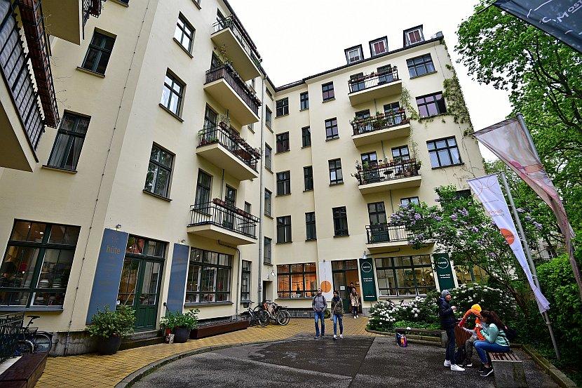 德國-柏林-哈克雪庭院