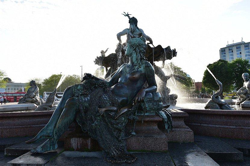 德國-柏林-海神噴泉