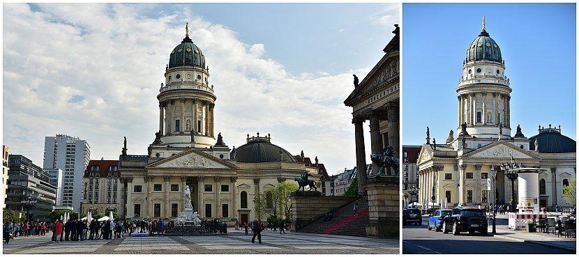 德國-柏林-御林廣場-德國大教堂