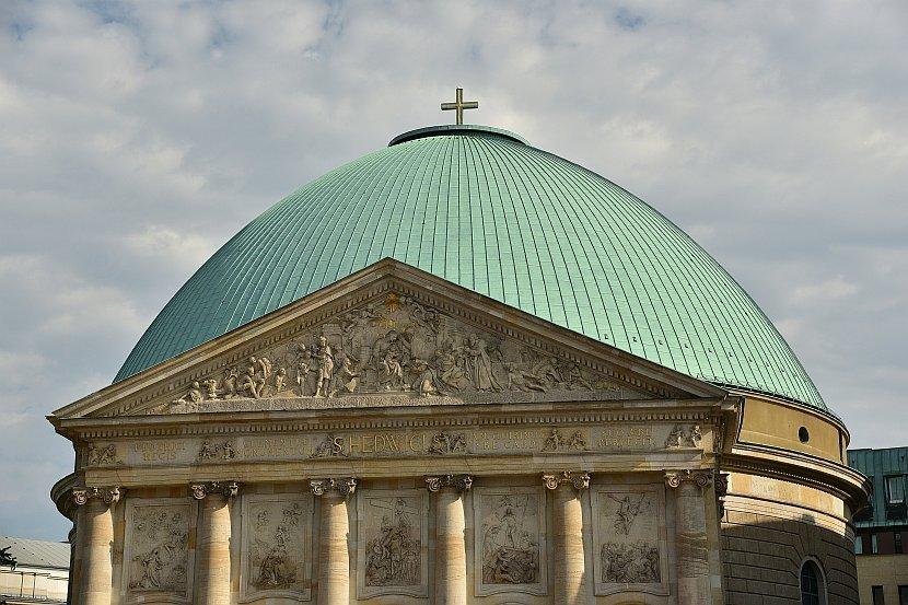 德國-柏林-聖黑德維希主教座堂