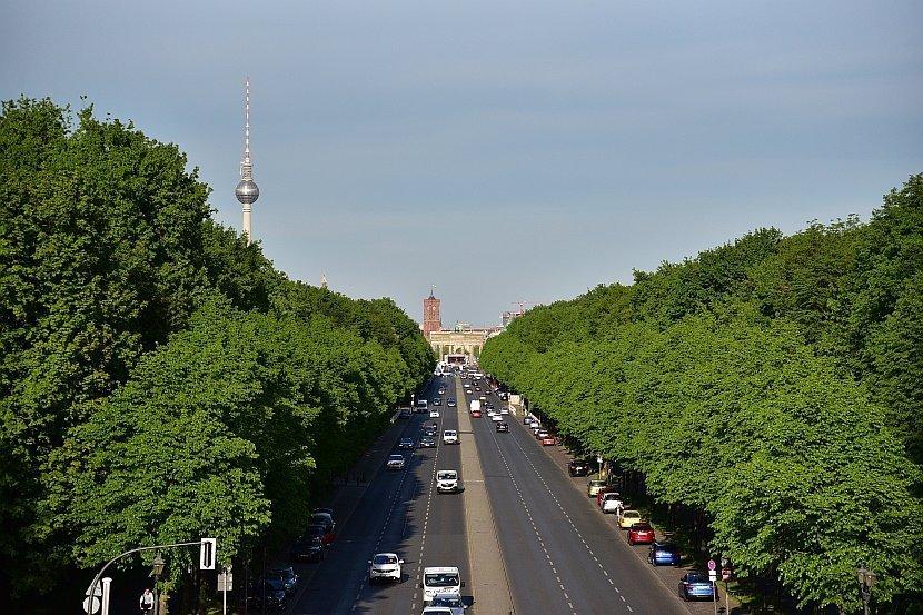 德國-柏林-勝利紀念柱(Siegessäule)