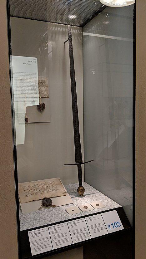 德國-柏林-菩提樹下大道-德意志歷史博物館-條頓騎士團團長的配劍