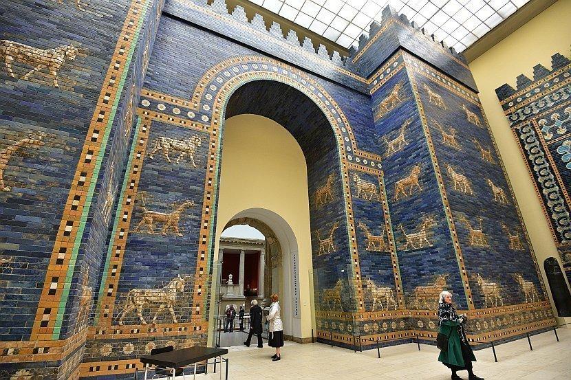 德國-柏林-博物館島-佩加蒙博物館伊斯塔爾門