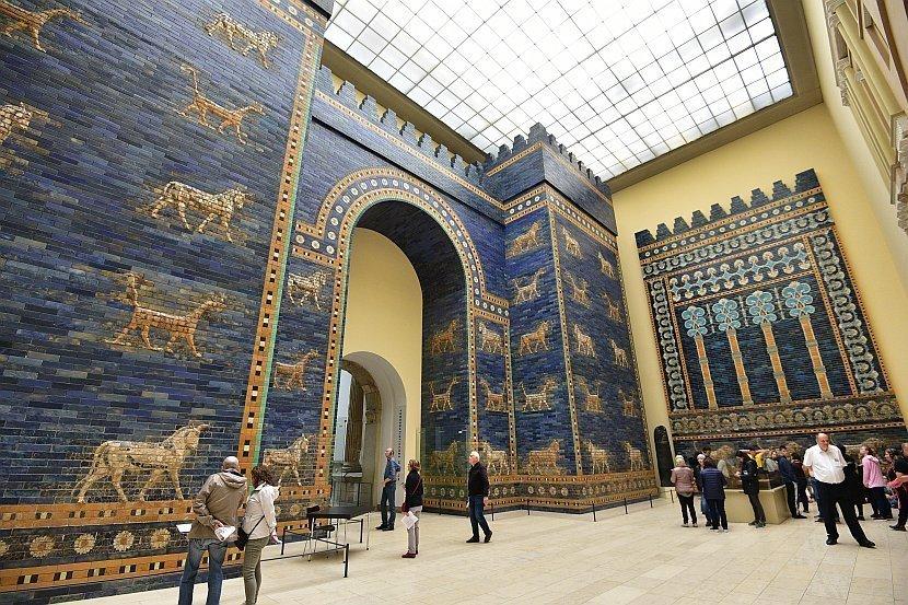 德國-柏林-佩加蒙博物館伊斯塔爾門