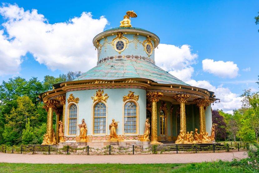 德國-波茲坦-無憂宮-中國人茶屋